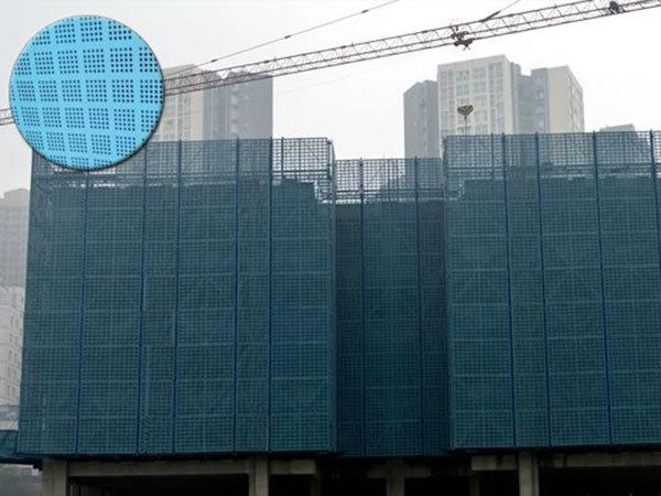 河北建筑工地爬架网使用见证